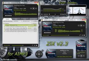 ZiX for AIMP3 by RaiderO1