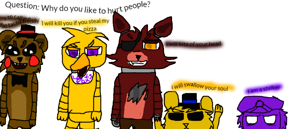 how to draw fnaf characters youtube