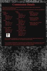 Commission Details by Unoraptormon
