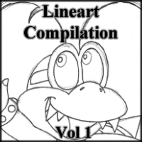 Lineart Compilation Vol. 1 by cmdixon589