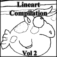 Lineart Compilation Vol. 2 by cmdixon589