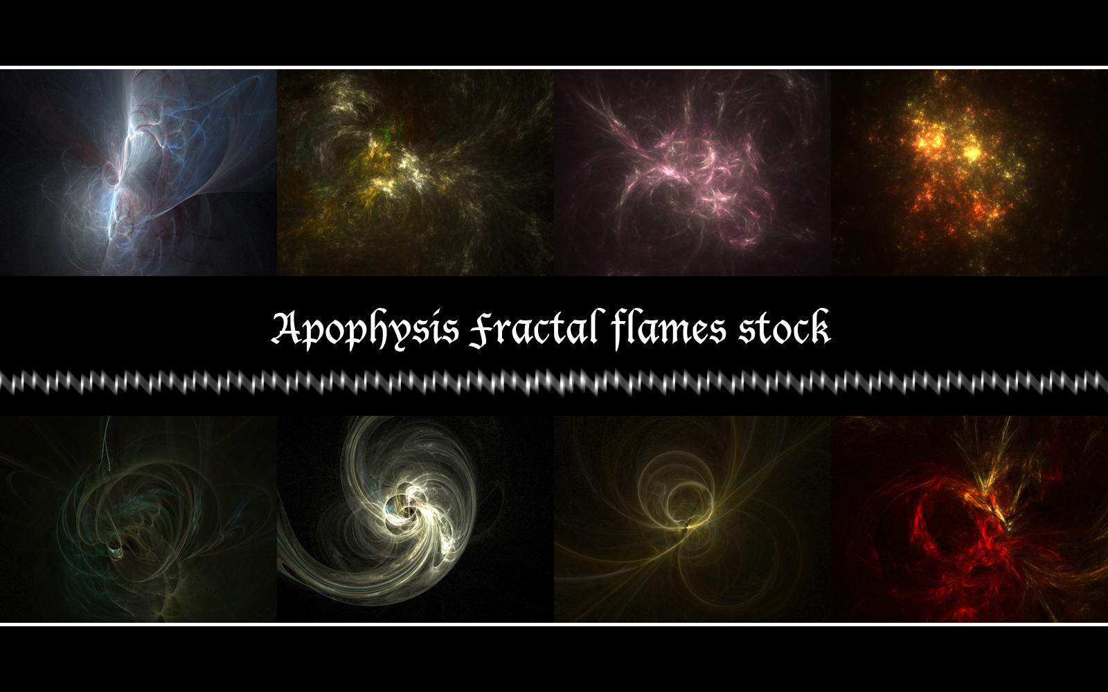 Apophysis Fractal Stock Pack by aRchAng3lZz