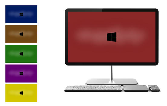 Windows 8 Wallpaper Bright Colors