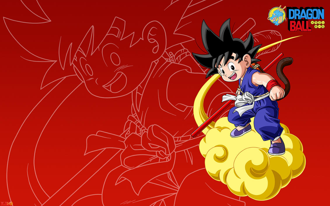 kid goku - wallpapers 16:9link-leob on deviantart