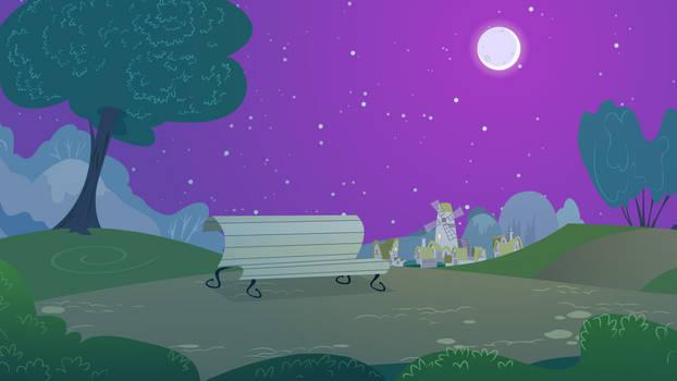 Park Background (Nighttime version)