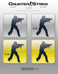 Counter-Strike and CS:CZ icons
