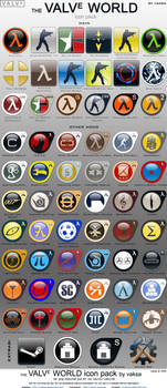 Valve World icon pack by vaksa