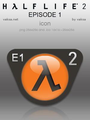 Half-Life 2: Episode 1 icon by vaksa