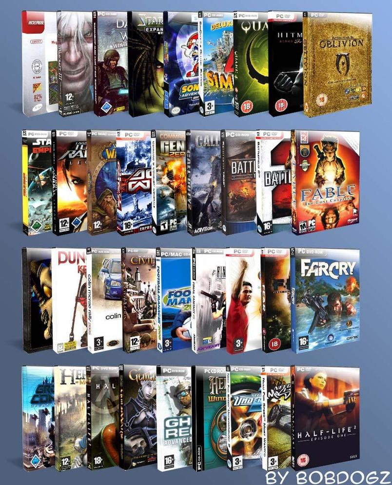DVD Game Pack by b0bd0gz by b0bd0gz