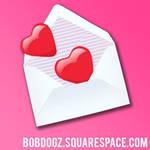 Heart Envelope by b0bd0gz