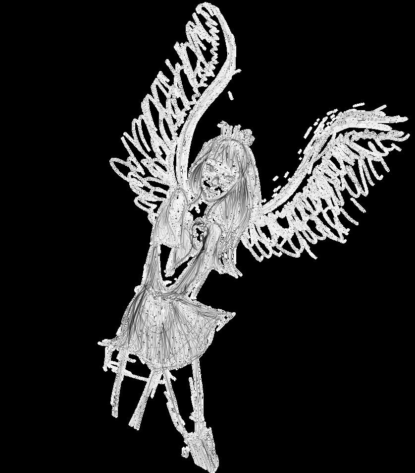 Eagle Angel Sketch Thing By Hpfreak25 On Deviantart