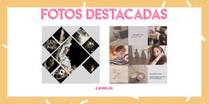template 001 de fotos destacadas // rpg