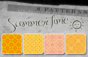 Patterns: Summer Time by StrangeClaire