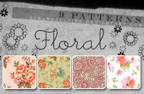 Patterns: Floral by StrangeClaire