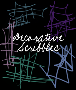 Decorative Scribbles by bombay101