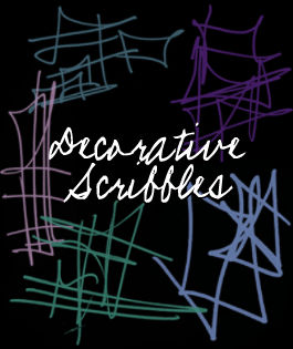 Decorative Scribbles