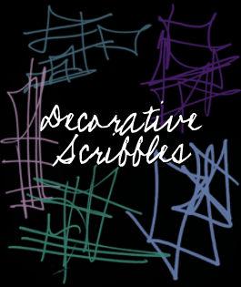 Decorative Scribbles