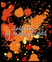 Splatters 05 by bombay101