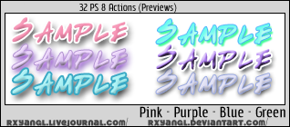 Pink Purple Blue Green Styles by princess-RxY