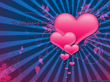 Love conquers all - Wallpapers