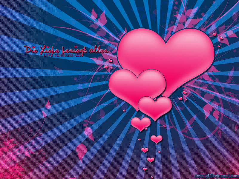 Love conquers All Wallpaper : Love conquers all - Wallpapers by princess-RxY on DeviantArt