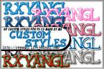40 PS CS Styles