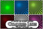 50:100x100 ColouredLines Text.