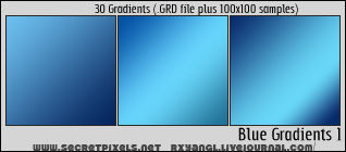 30:Blue Gradients 1