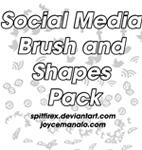 Social Media Brushes by spitfirex