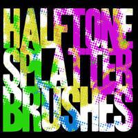 Halftone Splatters by WhirlwindZOR