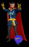Doctor Strange 3d Model by Supermangraphix
