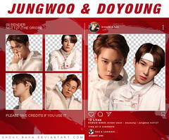 [ PACK ] JUNGWOO / DOYOUNG - 6 PNG