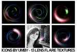 13 Lens Flare Textures