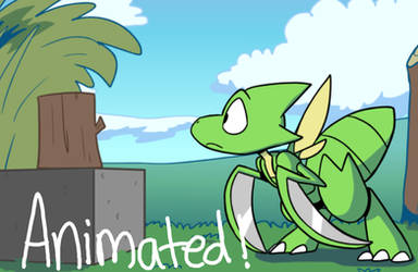 Animation: Scyther