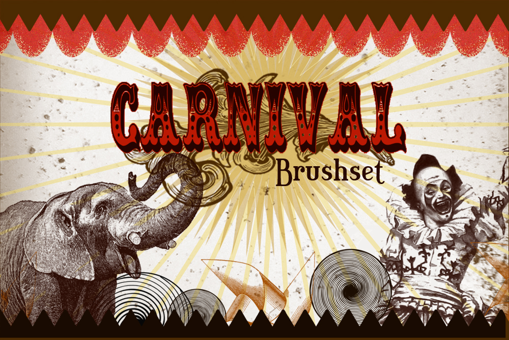 Carnival Photoshop Brushset by charmedbyjessica