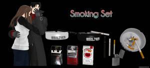 Smoking Set by kaahgomedl