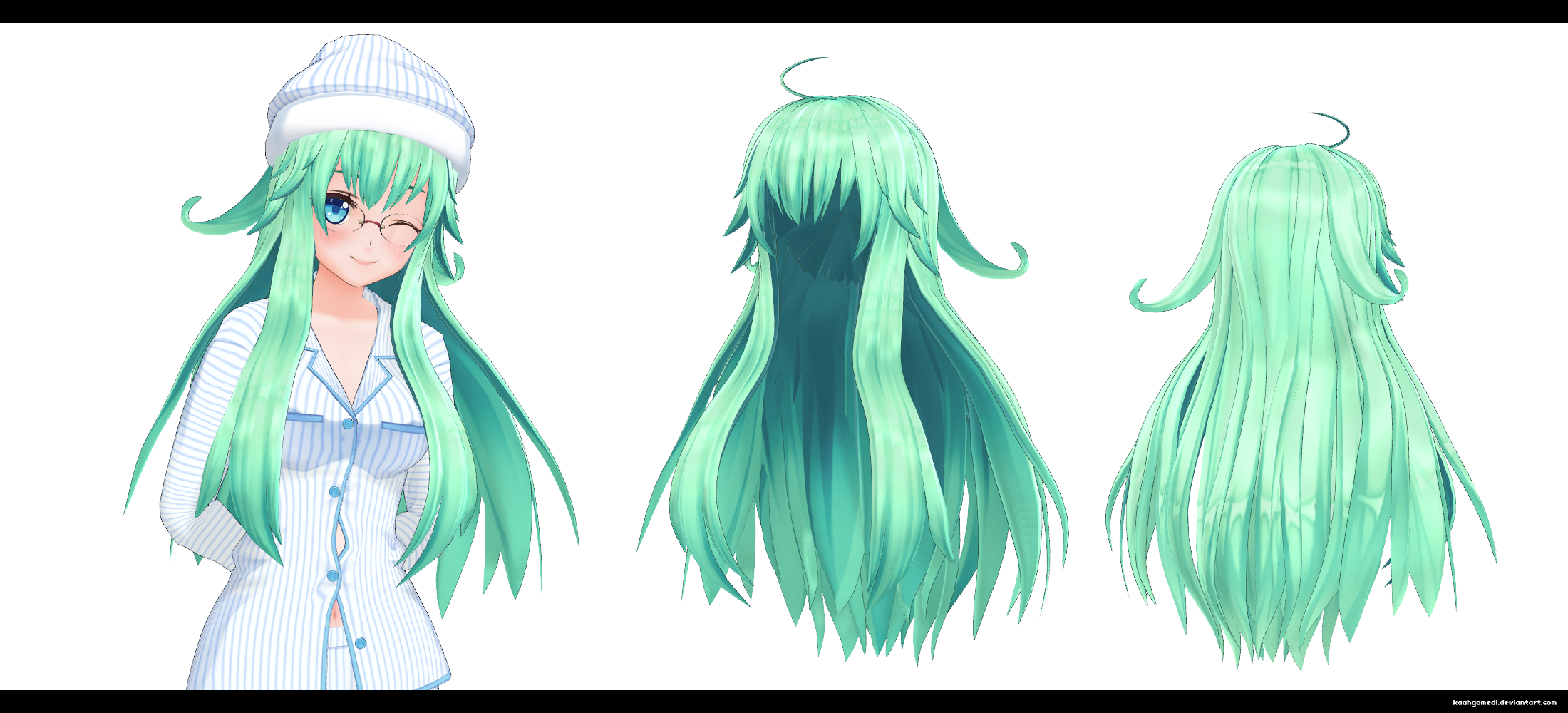 Mmd Long Curly Hair Related Keywords Suggestions Mmd Long Curly