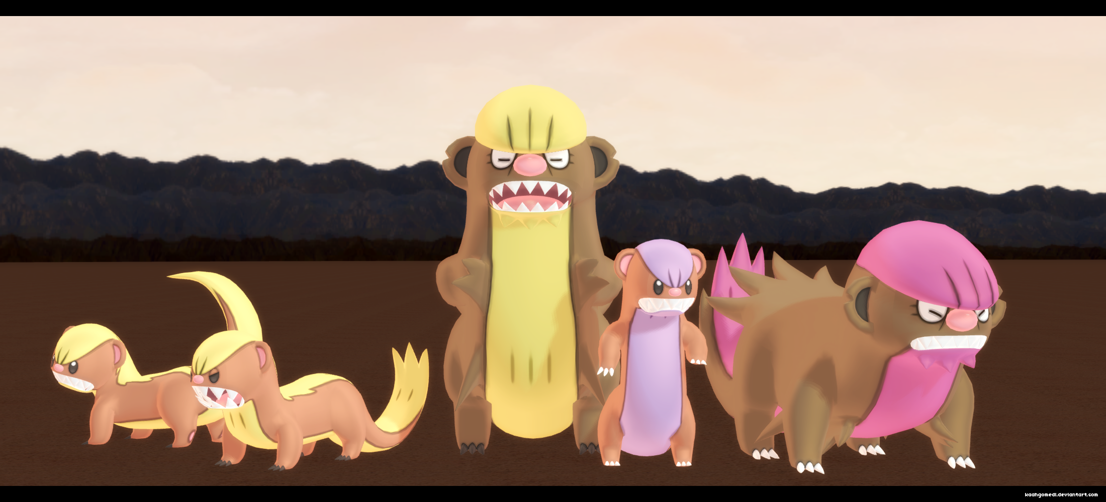 MMD Pokemon: Gumshoos Youngoos