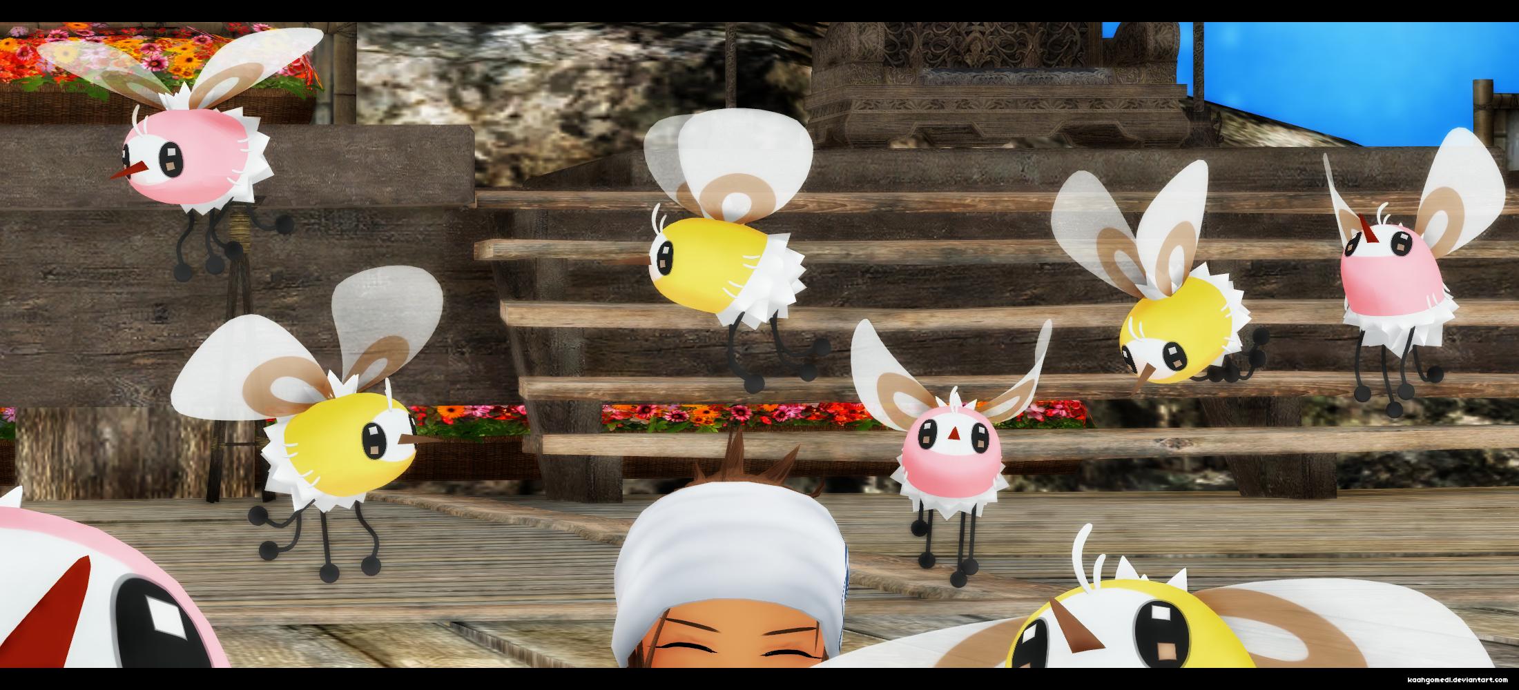 MMD pokemon: Cutiefly