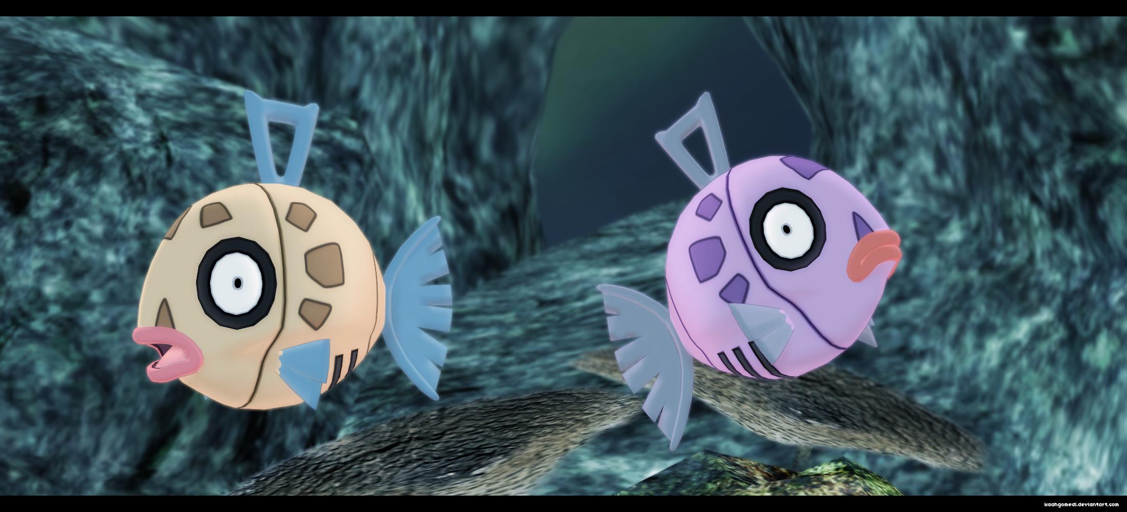 Pokemon MMD: Feebas