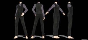 MMD Female suit DL