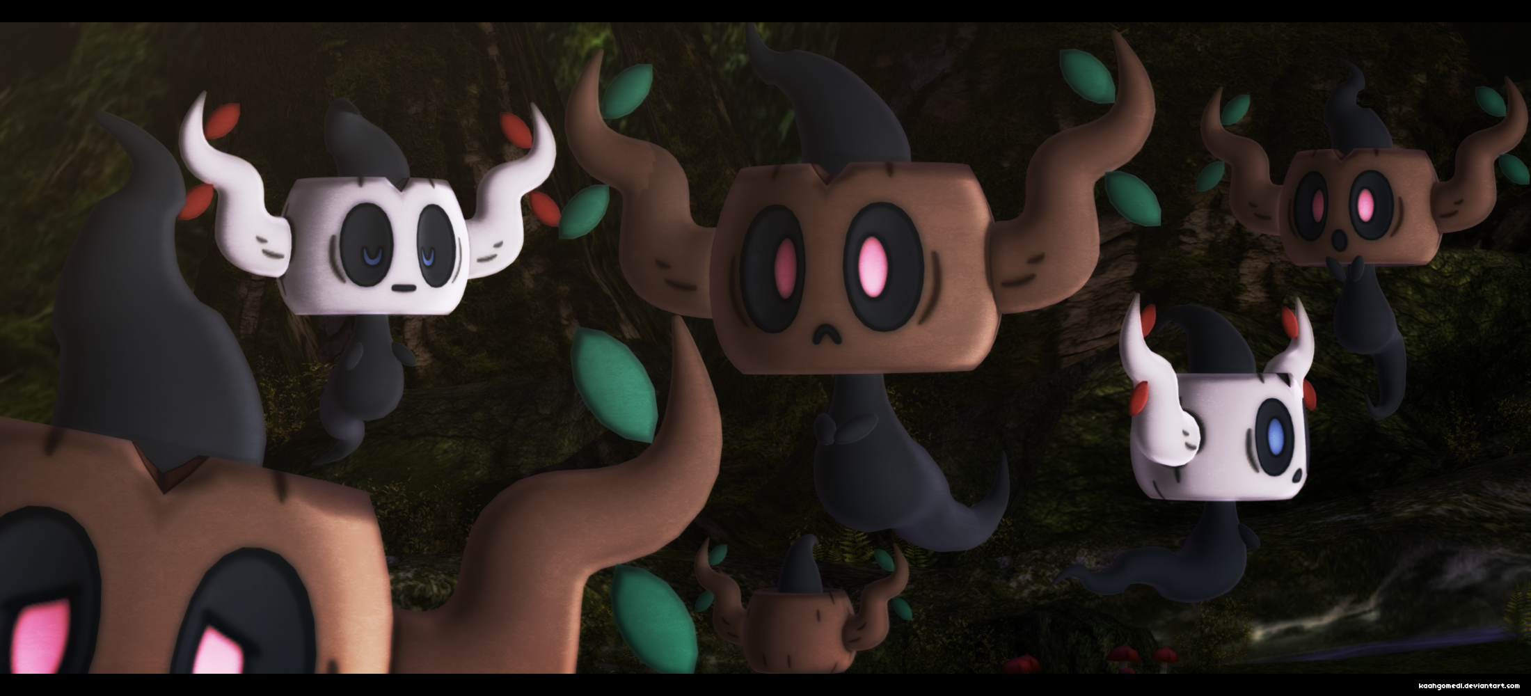 MMD Pokemon: Phantump DL