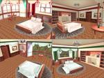 MMD: Red/Green Bedrooms