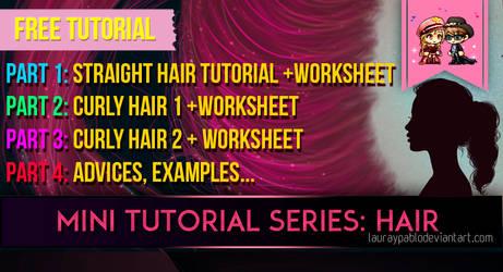 Tutorial Hair + Worksheet PART 1