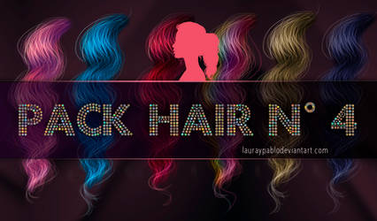 Pack hair 4 from minitutorial series by lauraypablo