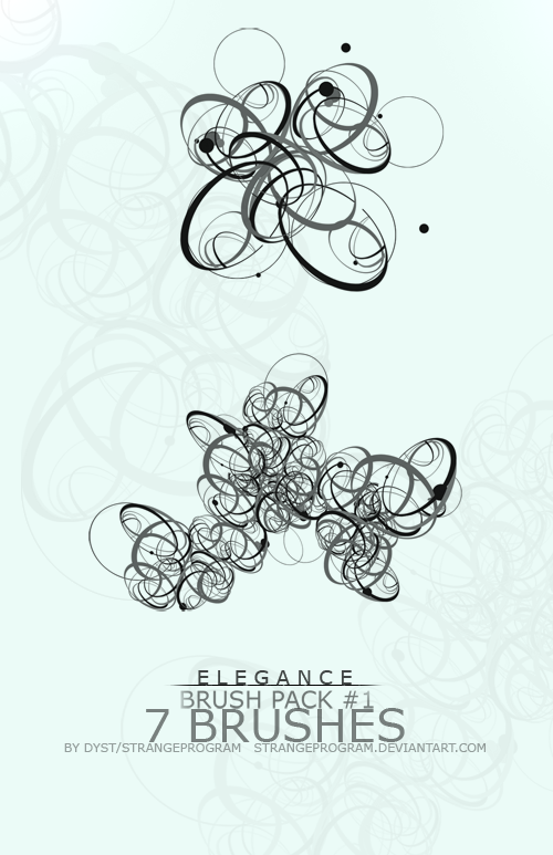 Brush Pack 1: Elegance by StrangeProgram
