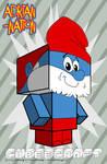 Papa Smurf template