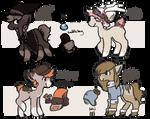 Pony Adopts 3 (OPEN)