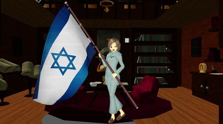 Newcomer Hetalia Israel~! by JerisEnigma