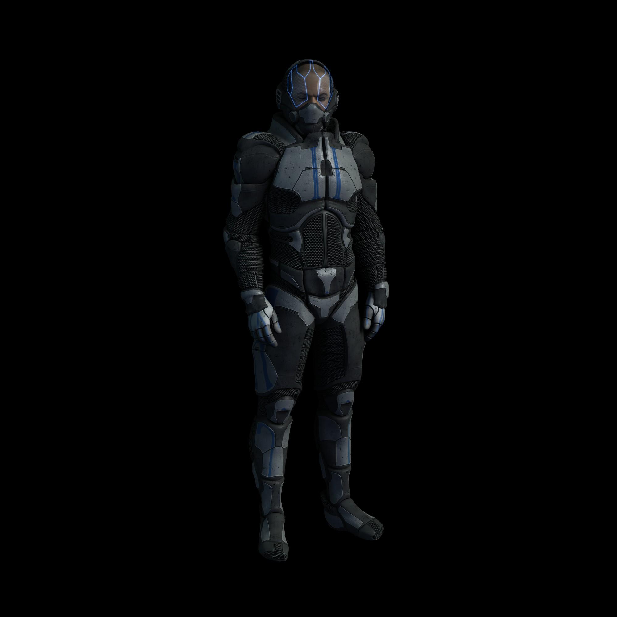 DS MATs for X3D Hyper Suit M4 by AdamTLS